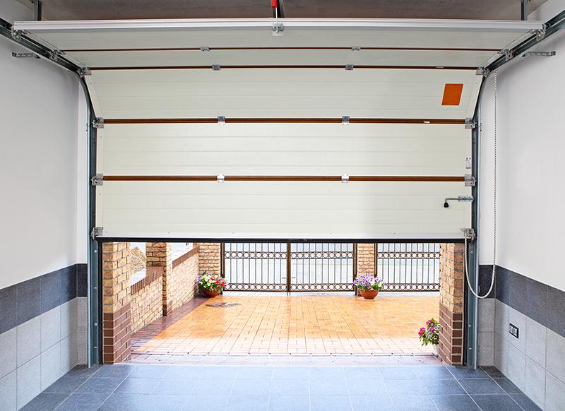 Купить поднимающиеся ворота на гараж